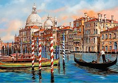 """Следобед във Венеция - Пъзел от колекцията """"Premium Quality"""" -"""