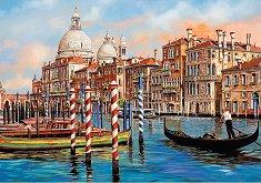 """Следобед във Венеция - Пъзел от колекцията """"Premium Quality"""" - пъзел"""