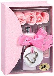Raphael Rosalee Perfect Love No.20 - Подаръчен комплект с козметика за тяло с аромат на роза - продукт