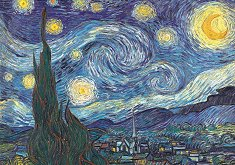 Звездна нощ - Ван Гог (Van Gogh) -