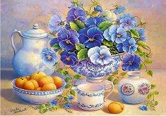 Чай с теменужки - пъзел