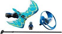 """Боен пумпал: Джей - Повелителят на дракона - Детски конструктор от серията """"LEGO Ninjago: Masters of Spinjitzu"""" - играчка"""