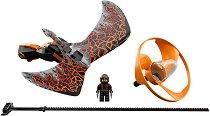 """Боен пумпал: Коул - Повелителят на дракона - Детски конструктор от серията """"LEGO Ninjago: Masters of Spinjitzu"""" - играчка"""