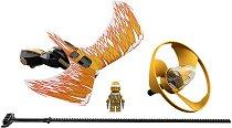 """Боен пумпал: Златният нинджа - Повелителят на дракона - Детски конструктор от серията """"LEGO Ninjago: Masters of Spinjitzu"""" -"""