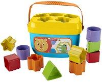 Сортер - Baby's First Blocks - Детска играчка с 10 фигури за сортиране - играчка