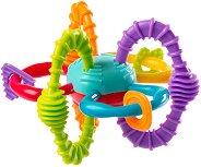 Дрънкалка с дъвкалка - Bend & Twist Ball - За бебета над 6 месеца - играчка