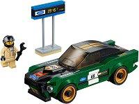 """Спортен автомобил - Ford Mustang Fastbac 1968 - Детски конструктор от серията """"LEGO: Speed Champions"""" - играчка"""