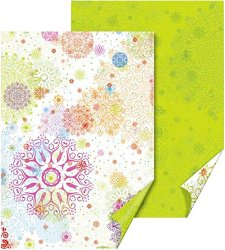 Двустранен картон за скрапбукинг - Green Crystals