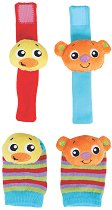 Дрънкалки за ръце и крака - Discovery - Бебешка играчка - играчка