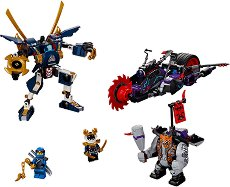 """Килоу срещу Самурай X - Детски конструктор от серията """"LEGO Ninjago: Masters of Spinjitzu"""" -"""