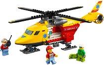 """Хеликоптер за спасителни операции - Детски конструктор от серията """"LEGO: City"""" - играчка"""