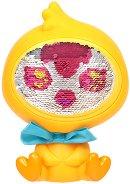 """Пилето Даз - Детска играчка с променящо се лице от пайети от серията """"The Zequins"""" - играчка"""
