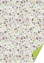Двустранен картон за скрапбукинг - Коледа - Размери 50 х 70 cm
