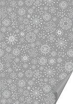 Двустранен картон за скрапбукинг - Снежинки