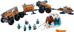 """Мобилна изследователска база в Арктика - Детски конструктор от серията """"LEGO: City"""" - играчка"""