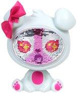 """Кученцето Кристъл - Детска играчка с променящо се лице от пайети от серията """"The Zequins"""" -"""