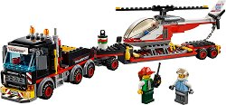 """Транспорт на извънгабаритни и тежки товари - Детски конструктор от серията """"LEGO Juniors"""" - играчка"""