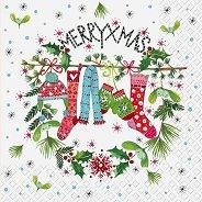 Салфетки за декупаж - Коледа - Пакет от 20 броя