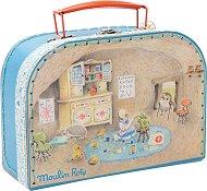 """Лекарско куфарче - Детски комплект с аксесоари от серията """"Les Valises"""" -"""