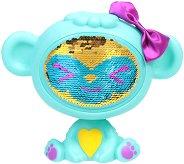 """Маймунката Аква - Детска играчка с променящо се лице от пайети от серията """"The Zequins"""" -"""