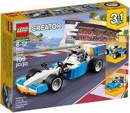 """Екстремни машини - 3 в 1 - Детски конструктор от серията """"LEGO Creator Vehicles"""" - играчка"""
