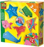 Оригами - Морски обитатели - Творчески комплект -