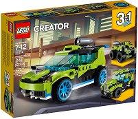 """Автомобили за рали - 3 в 1 - Детски конструктор от серията """"LEGO Creator Vehicles"""" - играчка"""