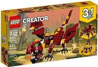 """Митични същества - 3 в 1 - Детски конструктор от серията """"LEGO Creator Creatures"""" - играчка"""