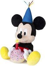 Рожденикът Мики Маус - Музикална плюшена играчка - играчка