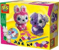 Декорирай сам с филц - Куче и зайче - Творчески комплект - играчка