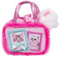 Котенце в чантичка - Плюшена играчка -