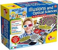 """Илюзионна и оптична наука - Образователен комплект от серията """"I am a Genius"""" - играчка"""