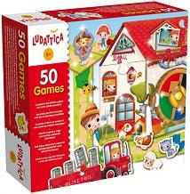 """50 игри за деца - Ферма - От серията """"Ludattica"""" -"""