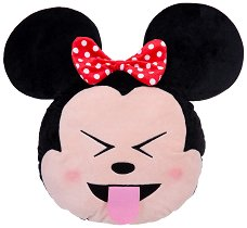 Плюшена възглавница - Мини Маус с панделка -