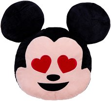 Плюшена възглавница - Влюбен Мики Маус -