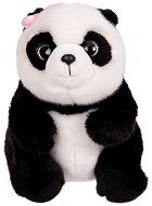 Панда с панделка - Плюшена играчка -