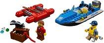 """Бягство по реката - Детски конструктор от серията """"LEGO: City"""" - играчка"""