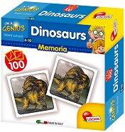 """Динозаври - Мемо игра от серията """"I am a Genius"""" - играчка"""