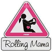 Табела с надпис - Rolling Mama -