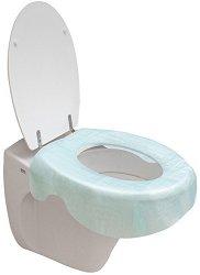 """Еднократни протектори за тоалетна чиния - Комплект от 3 броя от серия """"MommyLine"""" - продукт"""