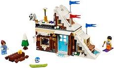 """Зимна ваканция - 3 в 1 - Детски конструктор от серията """"LEGO Creator - Buildings"""" - играчка"""