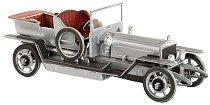 Ретро автомобил - Картонен 3D модел за сглобяване -