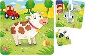 """Във фермата - 8 образователни пъзела от серията """"Carotina Baby"""" -"""
