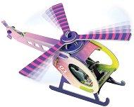 Хеликоптер - Картонен 3D модел за сглобяване -