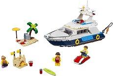 """Морски приключения - 3 в 1 - Детски конструктор от серията """"LEGO Creator - Buildings"""" - играчка"""