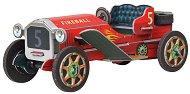 Класически спортен автомобил - Картонен 3D модел за сглобяване -