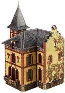 Вила във Вилемомбле - Картонен 3D модел за сглобяване -
