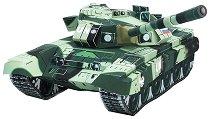 Руски танк - Т-90 - Картонен 3D модел за сглобяване -