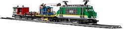 """Товарен влак - Конструктор с дистанционно управление от серията """"LEGO City"""" - играчка"""
