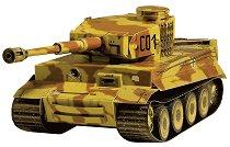 Германски танк - PzKpfw VI Tiger - Картонен 3D модел за сглобяване - творчески комплект